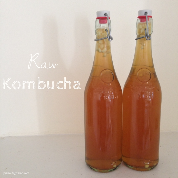 Red Raspberry Leaf Kombucha