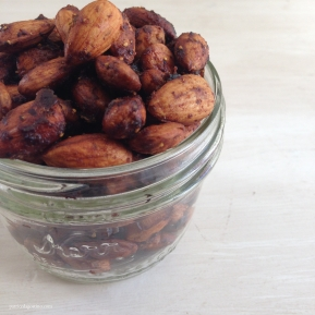 Raw Teriyaki Almonds