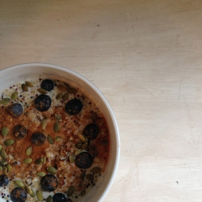 Gloomy Berkeley Morning Quinoa Porridge
